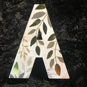 Celebrate It Letter A Box for Gifting, Decorating